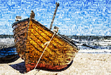 Foto mosaico piccolo_esempio barca