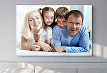 Foto su tela economica_esempio famiglia