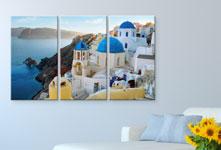 Foto su tela pannelli_esempio grecia