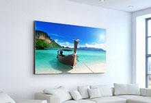 Foto su tela parete soggiorno_esempio mare del sud