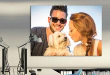 Poster_esempio coppia con cane