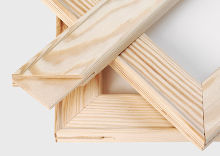 Tela_vista telaio in legno