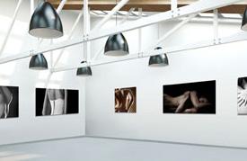 Vista galleria per aziende e artisti