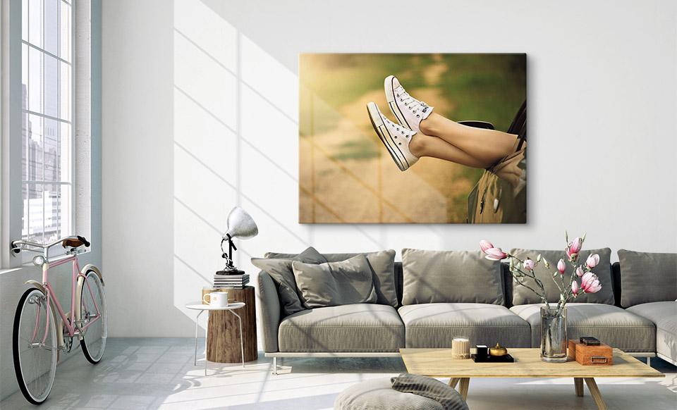 foto su tela offerte spazio di vita
